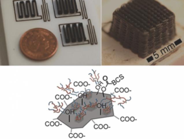 3D-печати микростуктур из графена