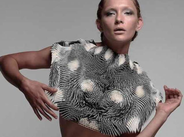 3D-печатная накидка отреагирует, если кто-то с интересом посмотрит на вашу грудь