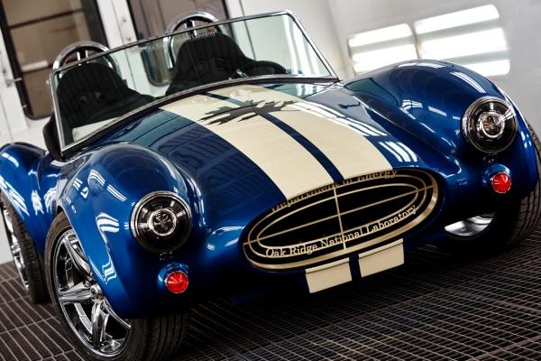 3D-печатная полномасштабная копия Shelby Cobra от ORNL стала изюминкой визита Обамы