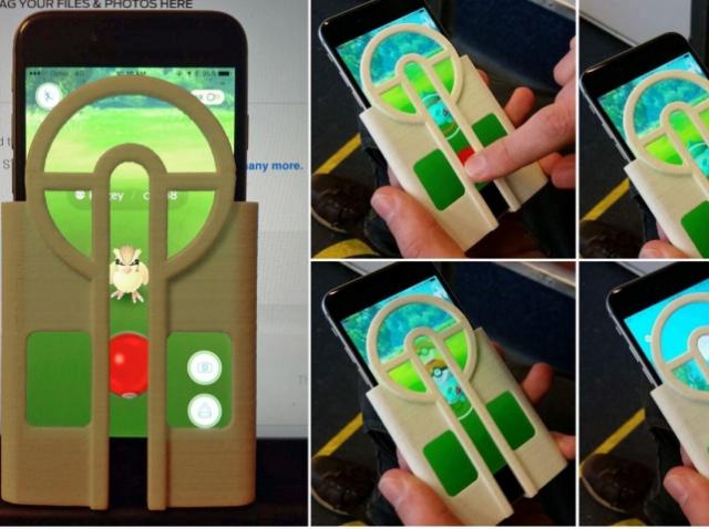 3D-печатный чехол для iPhone помогает ловить покемонов