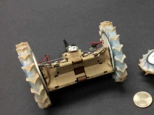3D-печатный робот-исследователь PUFFER может отправиться на Марс