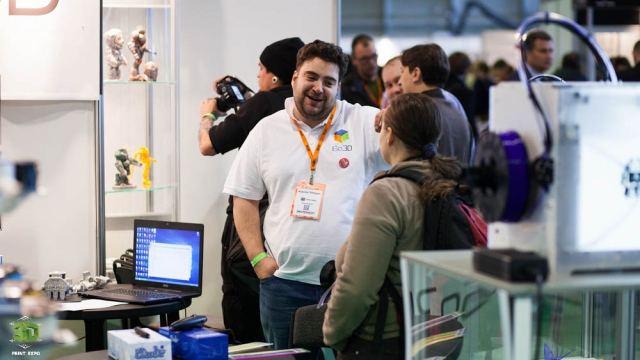 Meet 3D Print Expo 2016 in new big pavilion on November 17 - 18, 2016