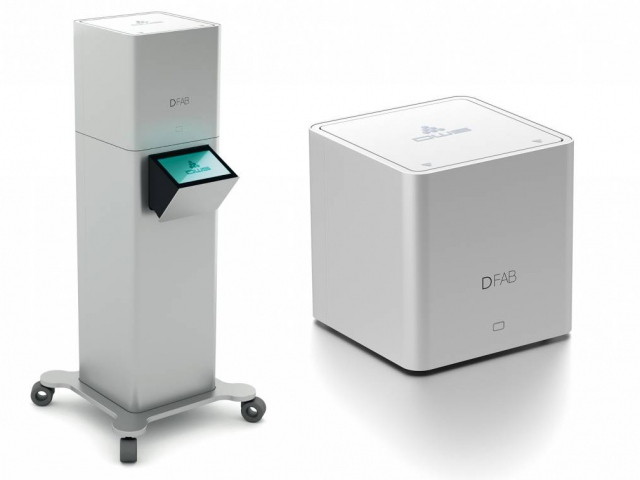 3D-принтер DFAB печатает зубные протезы за 20 минут