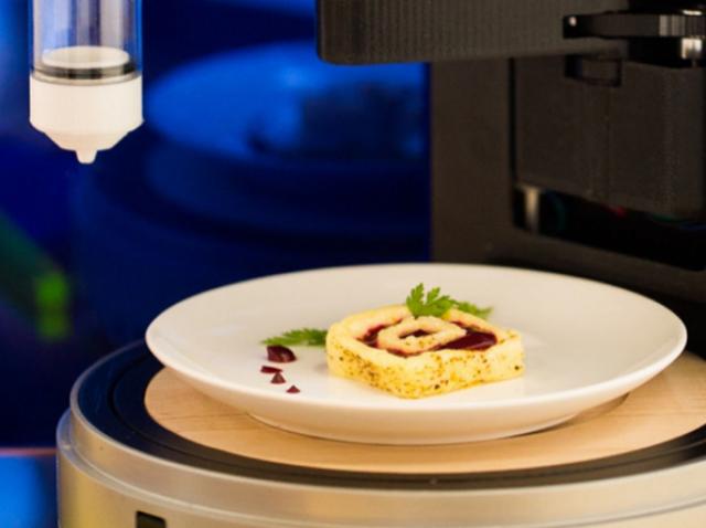 3D-принтер для печати еды: пища будет создана из наноцеллюлозы