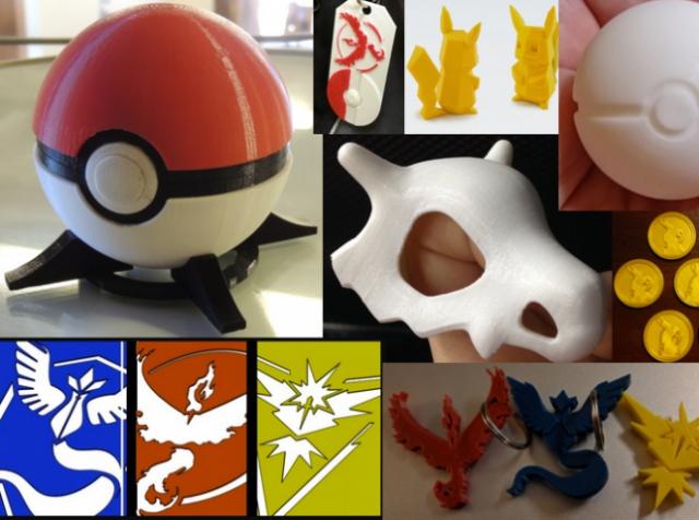 3D-принтер на службе у фанатов Pokemon GO