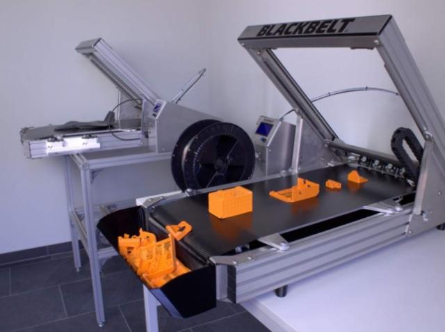 3D-принтер от Blackbelt3D позволит печатать изделия неограниченной длины