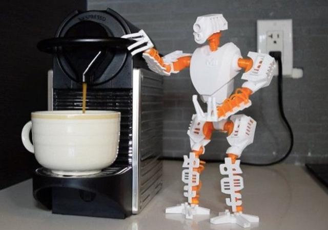 3D-принтер поможет создать собственного робота