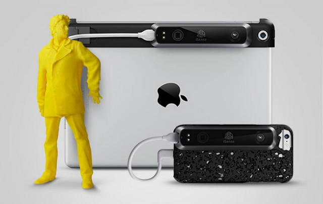 3D Systems Releases iSense 3D Scanner for iPhone 6 & 6 Plus