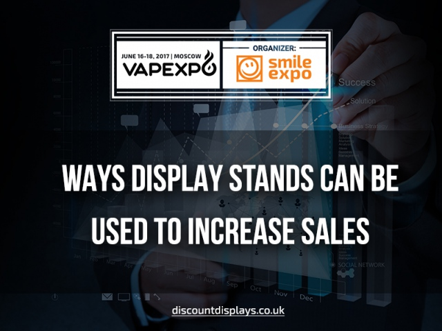 6 Ways Display Stands Can be Used to Increase Sales