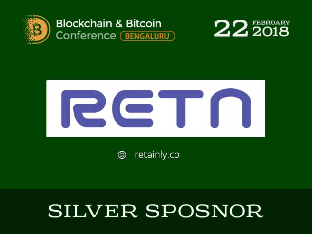 A cryptocurrency cashback service RETN will be Silver Sponsor of the conference