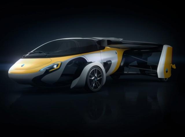 AeroMobil 4.0 — новая модель летающего авто