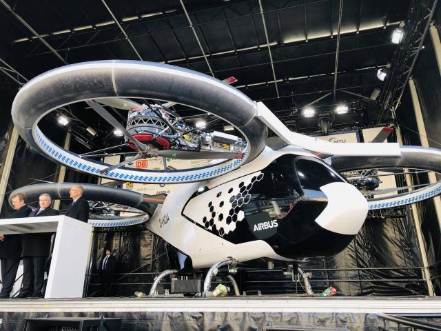 Airbus presented new-generation autonomous air taxi – CityAirbus