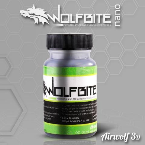 Airwolf 3D предлагает клеящий раствор Wolfbite Nano
