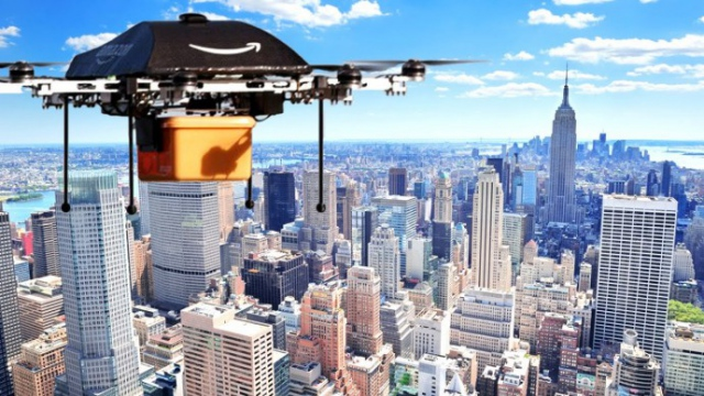 Amazon: беспилотникам нужна отдельная воздушная зона