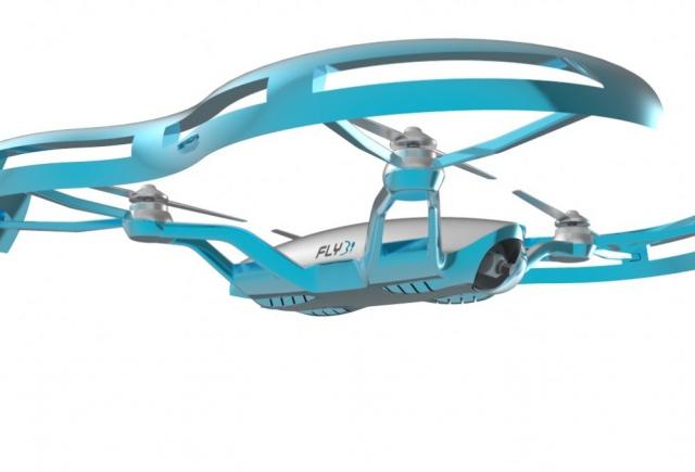 Американские разработчики создали первый в мире дрон с очками дополненной реальности