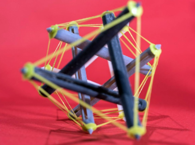 American scientists invented a 3D printing method using tensegrity structures with shape memory