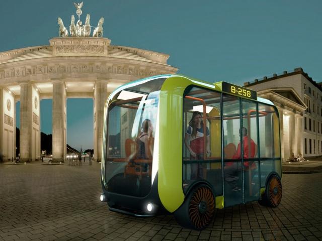Американцы напечатали на 3D-принтере беспилотный микроавтобус