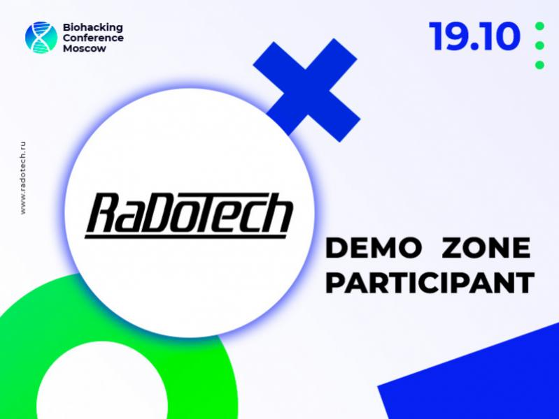 An Innovative Gadget For Health Monitoring: RaDoTech Device Will Be Presented at Biohacking Conference Moscow 2021 Demo Zone