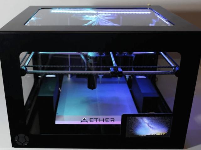 Англичане начали испытания 3D-биопринтера Aether 1