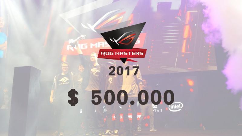 Анонсовано турнір ROG MASTERS 2017 з Dota 2 та CS:GO