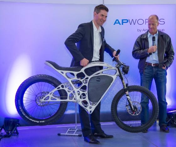 APWorks представила концепт 3D-печатного мотоцикла