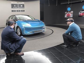 AR-технологии «дополнят» процесс проектирования автомобилей Ford