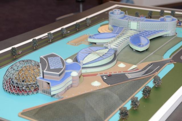 Архитектурный макет на 3D-принтере с помощью программы от Materialise