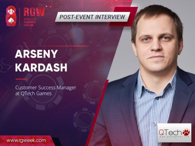 Arseny Kardash, QTech Games: Asia and the CIS countries are desired markets for gambling distributors