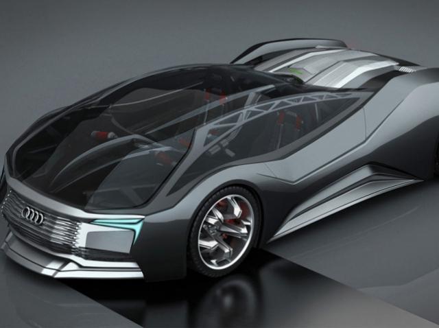 Audi F-Tron: ядерный прототип, напечатанный по 3D-технологии