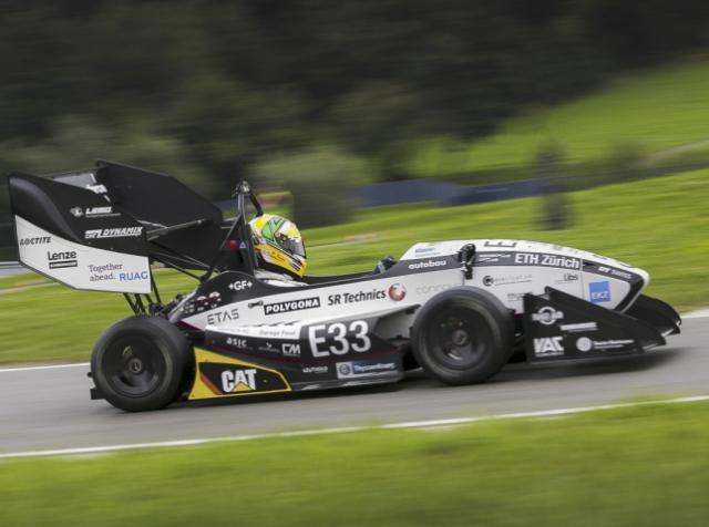 Swiss car broke acceleration record