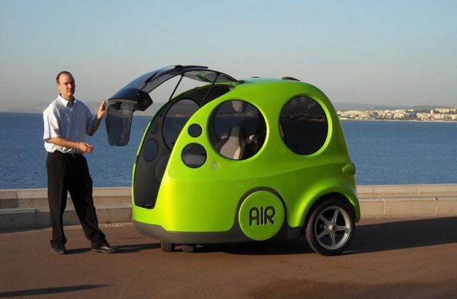 Автомобили работающие на сжатом воздухе