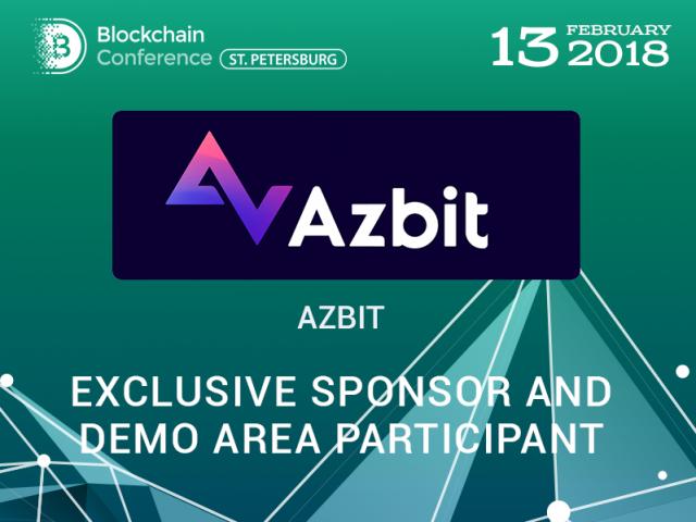 Azbit – Exclusive Sponsor of Blockchain Conference St. Petersburg