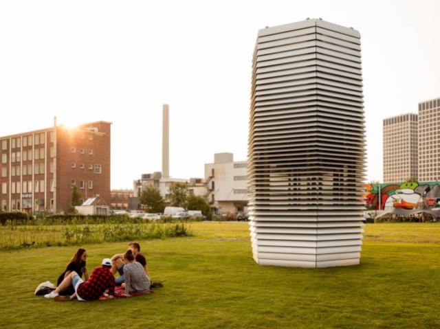 Башти для очищення повітря в Китаї розробив дизайнер із Нідерландів