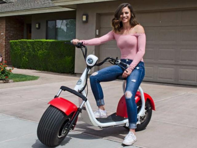 Big Phat Scooter: теперь по пляжу не только босиком, но и на скутере!