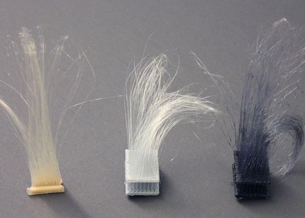Были изобретены 3D-печатные волосы
