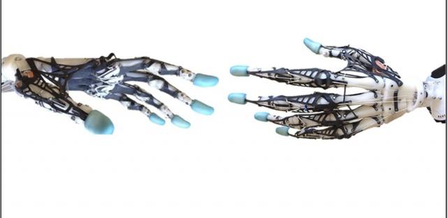 Biomimetic Robot Hand: выпущена искусственная подвижная рука