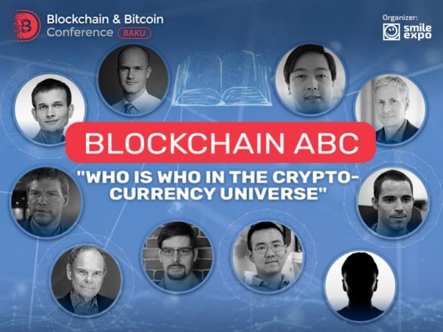 "BLOCKCHAIN ABC ""Who is who in the cryptocurrency universe"""