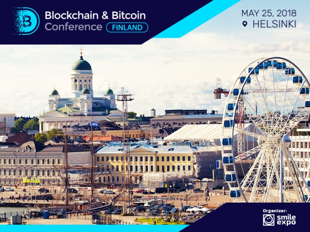 Blockchain & Bitcoin Conference Finland: Blockchain innovations and trends of the cryptocurrency market on March 25