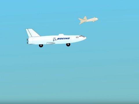 Boeing планирует получить патент на «плавающего» дрона