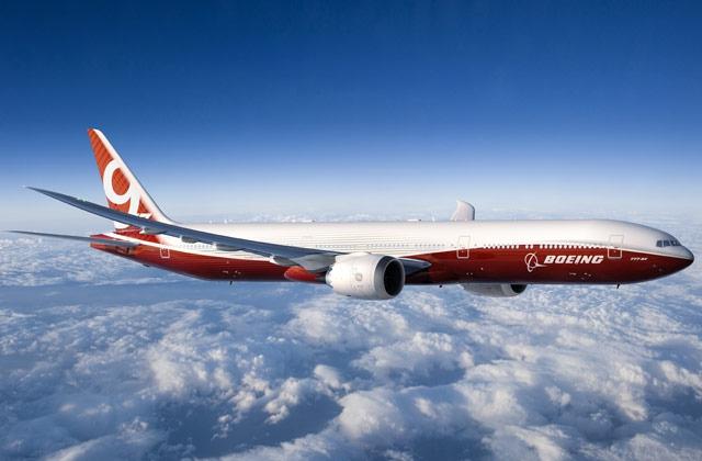 Компанія BOEING  презентувала новий вид літака: з крилами, які складаються