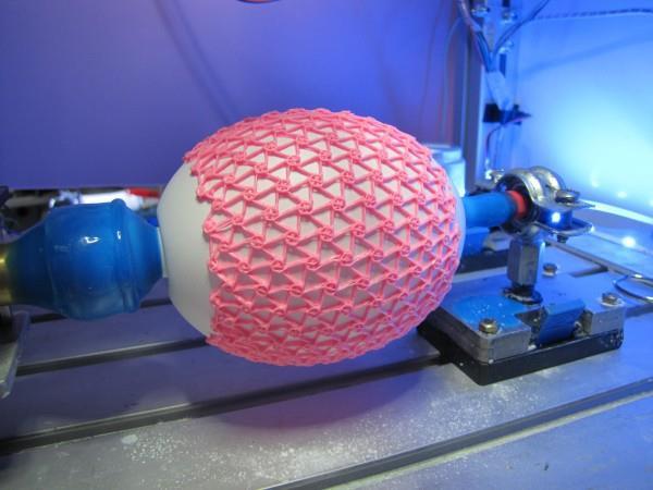 Британский аспирант 3D-печатает надувные структуры для создания искусственных мышц
