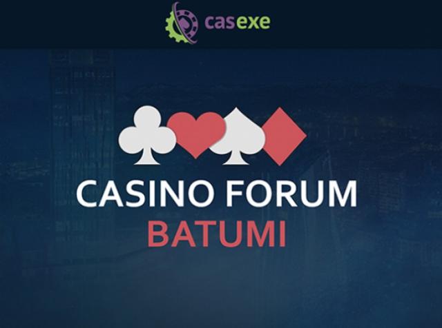 CASEXE: до встречи на Casino Forum Batumi!
