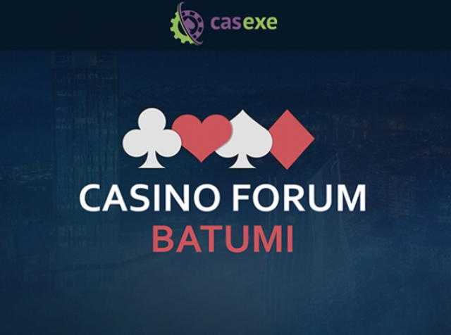CASEXE: see you at Casino Forum Batumi!