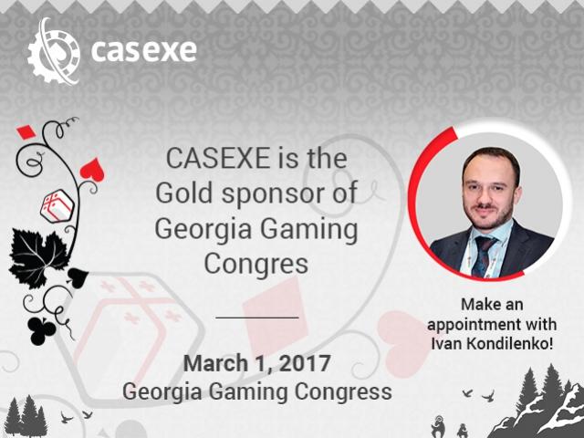 CASEXE is a Golden Sponsor of Georgia Gaming Congress