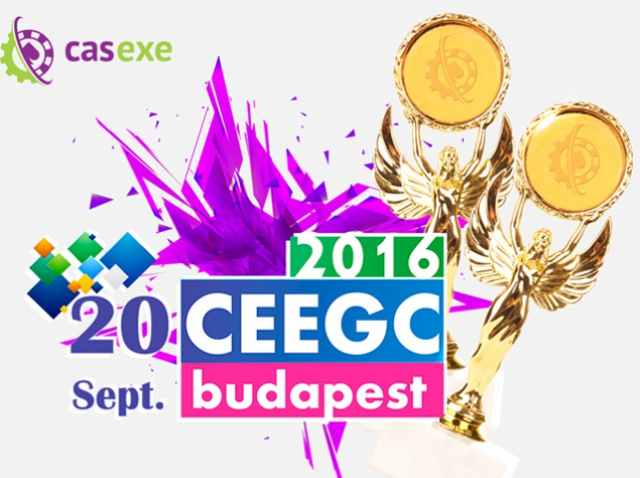 CASEXE привез две награды с CEEGC 2016!