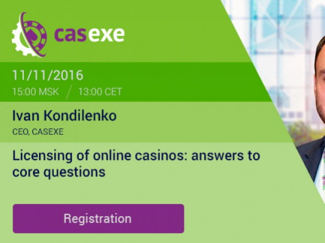 CASEXE to hold webinar on online casino licensing