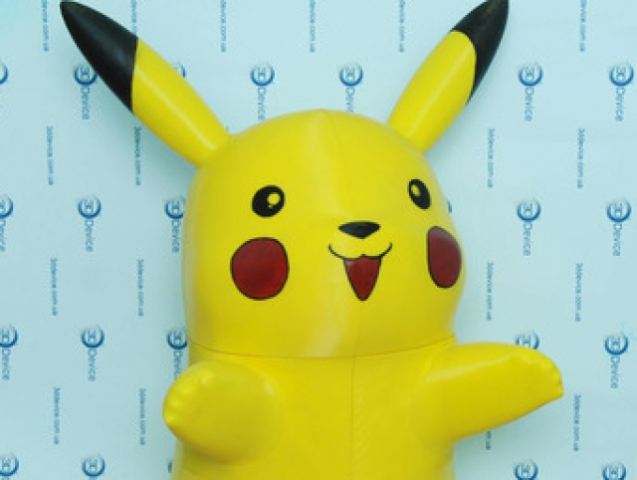 Catch printed Pikachu at 3D Print Conference Kiev