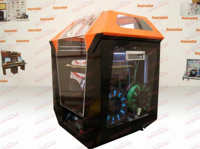 Четыре разных филамента в одном печатном цикле: «ЭнергияЛаб» представляет уникальный 3D-принтер «Квадро»