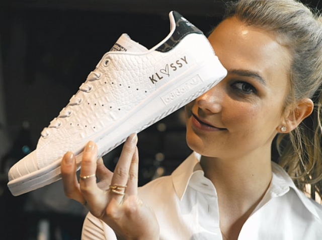Karlie Kloss at Adidas