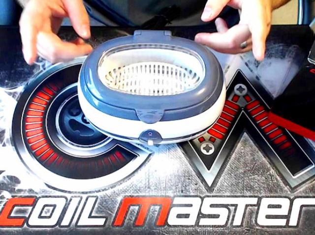 CoilMaster Ultrasonic Cleaner CM800 – девайс, который нужен каждому вейперу